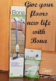 shine your floors with bona