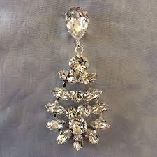 swarovski crystal chandelier teardrop earrings product images of