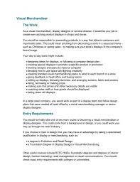 Merchandiser Cover Letter Sample Job And Resume Template
