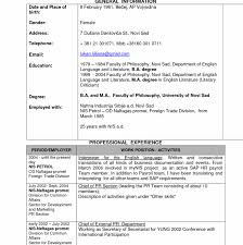 Mechanical Engineering Resume Format Template Word For Experienced