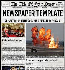 Editable Old Newspaper Template Editable Old Newspaper Template Wilkesworks