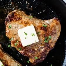 Oven Baked Steak