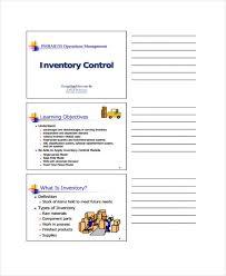 11 Inventory Control Templates Pdf Free Premium Templates