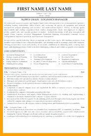 Logistics Resume Impressive Logistics Resume Impressive Resume Examples For Logistics Manager