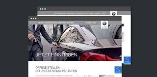 Bmw Karriere Website Relaunch Werbeagentur Weder Noch