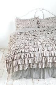 duvet covers grey ruffle duvet cover queen ruffle duvet cover queen waterfall ruffle duvet cover