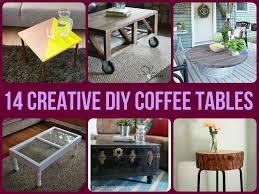 14 creative diy coffee tables jpg