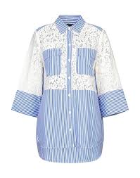 French Connection Lace Shirts Blouses Shirts Yoox Com