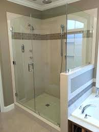 frameless door glass shower door glass shower door frameless glass door detail dwg