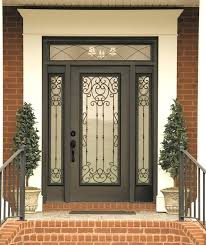 wrought iron exterior doors lovely wrought iron exterior doors front entry on door with glass and