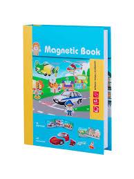 <b>Развивающая игра Magnetic Book</b> Весёлый транспорт Magnetic ...