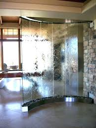 indoor water wall feature diy decorating