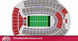 Horseshoe Osu Seating Chart Problem Solving Ohio State Football Horseshoe Seating Chart
