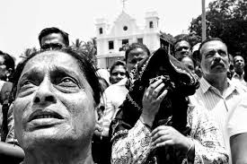 photo essay holy spirit church slideshow livemint people watching the re enactment of the crucifixion at the