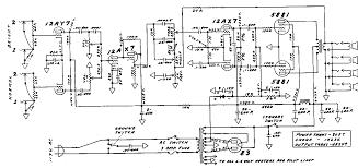 fender bassman tube amp schematic model 5f6 guitar fender bassman tube amp schematic model 5f6