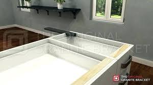 standard overhang granite support counter supports bracket quartz countertop granite support requirements overhang inspirational