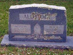 Ophelia Tolbert Aldridge (1888-1950) - Find A Grave Memorial