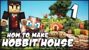 How To Build A Hobbit House Minecraft How To Make A Hobbit House Part 1 Youtube