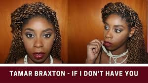 black women in tamar braxton tutorial