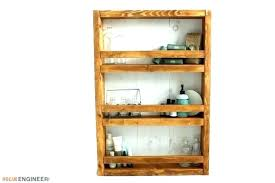 how to build wall shelves apothecary shelf for books diy