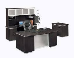 huge office desk. Decoration Graceful Black Wood Office Desk 13 Elegant Desks Within Used Furniture Buckos Huge Selection