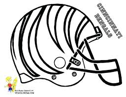 Nfl Football Coloring Pages To Print Football Helmet Coloring Pages