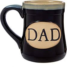 Enesco our name is mud dog hair, 16 oz. Amazon Com Dad Coffee Mug Cup Porcelain Father Gift Large For Men 18 Ounce My Claim To Joy Love And Legacy Black Kitchen Dining