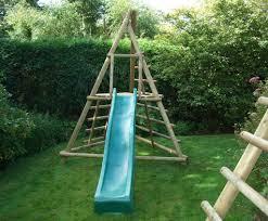 pyramid slide frame garden play listing image