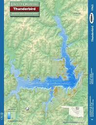 Oklahoma Lake Map Pergoladach Co