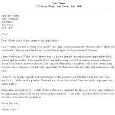 Waitressing Cover Letter This Is Resume For Restaurant Server Resume