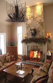 natural stone is still the most popular fireplace facing but keep in mind that traditional