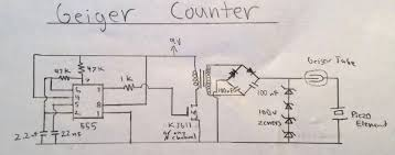 diy geiger counter using 555 embedded lab circuit diagram of 555 timer based geiger counter