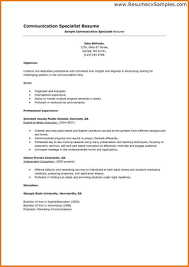 List Of Job Skills For Resumes Resume Examples For Job