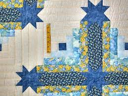Colorado Log Cabin Quilt -- gorgeous carefully made Amish Quilts ... & ... Blue and Yellow Colorado Log Cabin Quilt Photo 4 ... Adamdwight.com