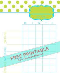 Printable Job Charts For Kids Free Download The Creative Mom