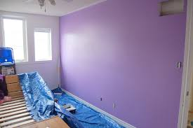 lavender wall paintAnd it was all yellow  northstory