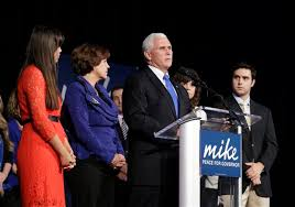 Image result for mike pence and family