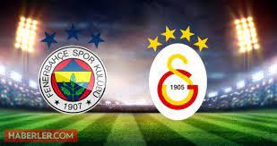 Fenerbahçe Galatasaray maçı ne zaman, hangi kanalda, hakemi kim? FB GS  derbisi ne zaman? Fenerbahçe Galatasaray şifresiz mi? FB GS muhtemel 11'ler  - Haberler