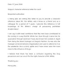 Free Reference Letter Character Template For A Friend Family