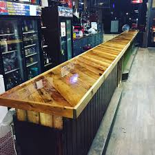 Bar Made Out Of Pallets Man Cave Wood Pallet Bar Free Diy Plans Pallets Bar And Basements