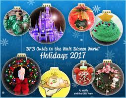 Walt Disney World Holiday Dining and Events | the disney food blog
