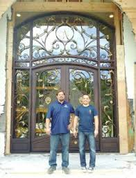wrought iron exterior doors. Custom Wrought Iron Entry Doors, Los Altos, Cupertino, Sunnyvale, California, Decorative Garage Exterior Doors