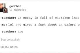 tumblr posts about being a teacher that are just funny