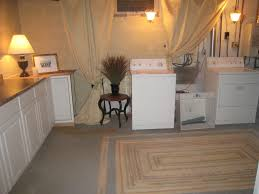 Basement Laundry Room Hopesnot Finished But Clean Bright - Ununfinished basement before and after