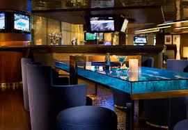 Delightful Brown Wood Coffee Table Bar Restaurant Design Ideas