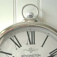 kensington wall clock large silver round pocket watch wall clock kensington wall clock grey kensington wall clock