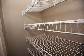 metal closet shelving units