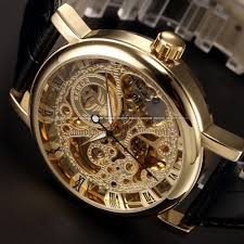 aliexpress com buy 2 side transparent ultra thin watches for aliexpress com buy 2 side transparent ultra thin watches for mens watches men luxury brand gold mechanical skeleton watch men wristwatch male watch from