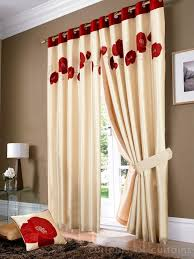 heavy canvas cotton luxury ready made eyelet ring top lined curtains