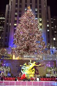 The 71st Annual Rockefeller Center Christmas Tree Lighting Ceremony  December 3, 2003 in New York